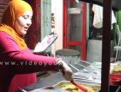 """فيديو..""""شكولولو"""" أول عربية أكل صينى فى مصر بمجهود ريهام وتشجيع زوجها"""