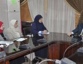 نائب رئيس جامعة القناه: اكتمال قاعدة البيانات للطلاب
