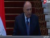شكرى: قطر لم تنفذ المبادئ الـ 6.. والجيش يبذل كل الجهد للتصدى للإرهاب