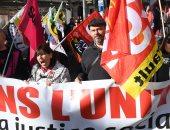 اشتباكات فى فرنسا احتجاجا على قانون الإصلاح الاقتصادى