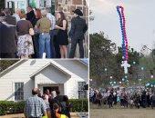 الآلاف يشيعون  جثامين ضحايا  كنيسة تكساس