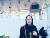 صور.. لقاء سويدان تنتهى من أداء مناسك العمرة قبل عودتها لعائلة الحاج نعمان