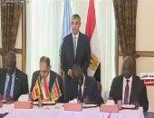 وفد حكومة جنوب السودان: نشكر مصر والرئيس السيسى على جهود إنهاء الحرب