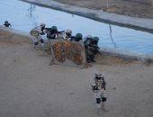 صور تدريبات مشتركة للجيش والشرطة على اقتحام الأوكار الإرهابية وتحرير الرهائن