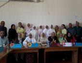 """""""النصر للبنات"""" تفوز بالمركز الأول فى مناظرة بإدارة وسط الإسكندرية التعليمية"""