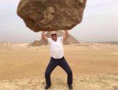 مارتن يول مدرب الأهلى السابق يستعيد ذكرياته فى مصر بعدة صور أمام الأهرامات
