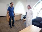 صور وفيديو.. اليوم السابع داخل أول مقر ثابت لاتحاد الكتاب العرب فى الشارقة