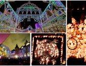"""أضواء مبهرة على شكل حيوانات فى مهرجان """"رايبشيلبى"""" بسويسرا"""