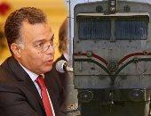 """رئيس """"السكة الحديد"""": قطار 925 تأخر انطلاقه 35 دقيقة لفحص الجرار"""