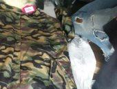 """""""صور"""".. جمارك الإسكندرية تضبط محاولة تهريب ملابس عسكرية"""