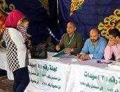 صور.. إقبال كبير على عملية التصويت فى انتخابات النادى المصرى