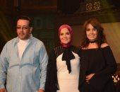 """صور.. علاء عبد الخالق ومنى عبد الغنى يعودان للغناء مع """"صاحبة السعادة"""""""