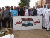 صور.. سكرتير جنوب سيناء يشارك فاعليات معسكر تجميل مدينة أبورديس