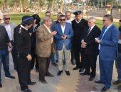 محافظ الإسماعيلية: الانتهاء من تطوير المحاور والطرق المرورية 24 نوفمبر