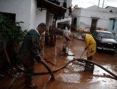صور.. آثار مدمرة لفيضانات باليونان أودت بحياة 19 شخصا