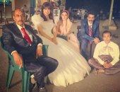 """صور.. حفل زفاف هبة مجدى وأحمد بدير فى مسلسل """"عائلة الحاج نعمان"""""""