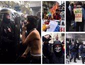 أعمال عنف فى باريس احتجاجا على قانون العمل الجديد
