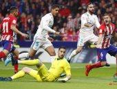 شاهد.. كوريا يهدر هدف أتلتيكو الأول أمام ريال مدريد بغرابة شديدة
