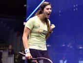 """نور الشربينى تنشر صورها على """"أنستجرام"""" بعد تأهلها لنصف نهائى بطولة العالم"""