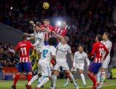 شاهد.. شوط سلبى بين ريال وأتلتيكو فى ديربى العاصمة مدريد
