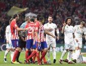 ديربى سلبى بين ريال مدريد وأتلتيكو يمنح برشلونة القمة بفارق 10 نقاط