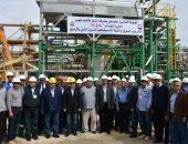 """وزير البترول يحتفل مع العاملين بـ""""ظهر"""" بالعيد القومى لاسترداد حقول سيناء"""