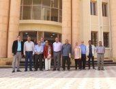 وفد البنك الدولى يتفقد مدارس النيل الدولية ويشيد بمستوى العمل.. (صور)