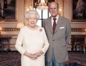 نشر صورة رسمية لاحتفال ملكة بريطانيا بعيد زواجها السبعين