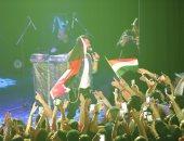 فيديو وصور .. تامر حسنى يتحدث عن أجمل حفلاته خلال جولته العالمية