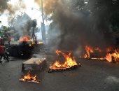 صور.. اشتباكات عنيفة بين شرطة هايتى ومحتجين بسبب الفساد الحكومى