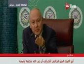 أبو الغيط: بيان وزراء الخارجية العرب أشار إلى أن حزب الله منظمة إرهابية