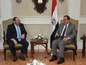 طارق الملا يلتقى رئيس جمعية البترول العالمية
