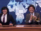 """فيديو.. خالد منصور و""""ألفونس"""" يسخران من الأغنية الرسمية لكأس العالم قطر 2022"""