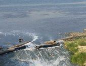 شكوى من انفجار ماسورة صرف صحى بنهر النيل بمنطقة السيل فى أسوان