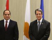 """رئيس قبرص لـ""""السيسي"""": مصر شريك مهم واستراتيجى للاتحاد الأوروبى.. صور"""