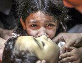 20 صورة ترصد ما فعله الإرهاب والاستعمار بأبنائنا فى يوم الطفولة