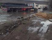 مياه المجارى تطفح فى كفر طهرمس بفيصل والسكان يستغيثون بمحافظ الجيزة