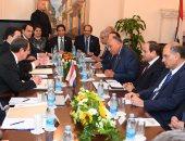 صور.. بدء مباحثات الرئيس السيسي ونظيره القبرصى فى العاصمة نيقوسيا