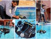 شباب مصريون يبتكرون غواصة آلية تعمل بالتحكم عن بعد