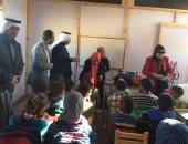 فيديو.. وكيل تعليم شمال سيناء تتفقد أول فصل تنويرى بالمحافظة