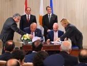 صور.. الرئيس السيسي ونظيره القبرصى يشهدان توقيع عدد من مذكرات التفاهم