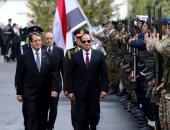 فيديو وصور.. مراسم استقبال رسمية للرئيس السيسي فور وصوله القصر الرئاسى فى قبرص