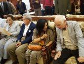صور وفيديو ..حفيد شامبليون يزور قلعة قايتباي والمتحف القومي برفقة المحافظ