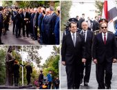 مراسم استقبال رسمية للرئيسى السيسى بقبرص