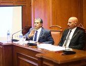 وزير البيئة لـ النائبة شيرين فراج: لو معاكى مستندات ضدى قدميها للنائب العام (صور)