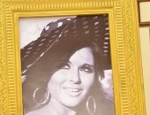 صور نجوم زمن الفن الجميل تزين ممشى المشاهير بمهرجان القاهرة السينمائى