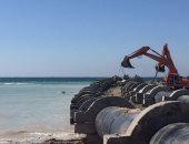 إنهاء 85% من أعمال محطة تحلية طور سيناء بتكلفة 554 مليون جنيه