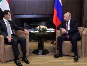 ننشر أول صور للقاء بوتين بنظيره السورى بشار الأسد فى روسيا
