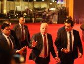 النمنم ونبيلة عبيد وليلى علوى وحسين فهمى يصلون افتتاح القاهرة السينمائى (صور)