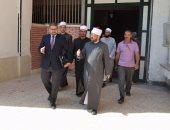 صور.. وفد من علماء من الأزهر يزور لمعهد جنوب مصر للأورام بأسيوط